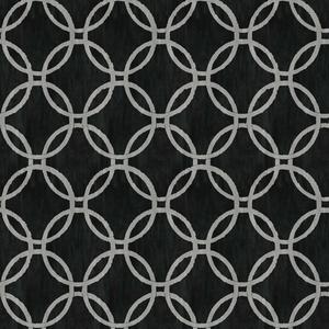 Ecliptic Black Geometric Wallpaper 2535-20637