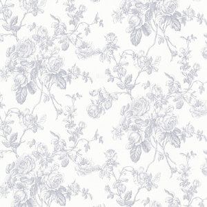 Louisa Blue Rose Trail Wallpaper 2668-21503