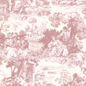 Isabella Rose Toile Wallpaper 2668-21511