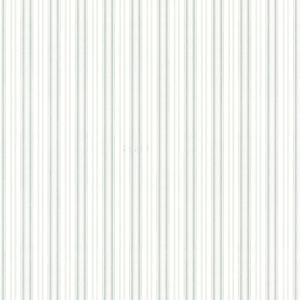 Anne Teal Ticking Stripe Wallpaper 2668-21515