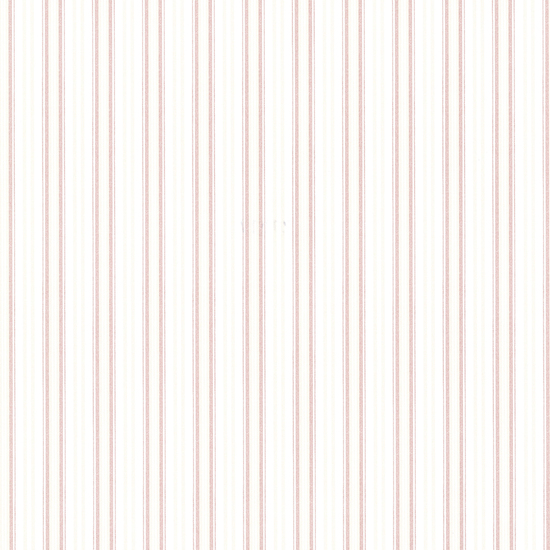 Anne Rose Ticking Stripe Wallpaper 2668-21516