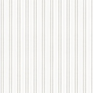 Anne Grey Ticking Stripe Wallpaper 2668-21517