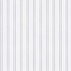 Anne Blue Ticking Stripe Wallpaper 2668-21518
