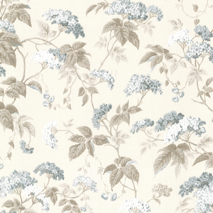 Emily Teal Blossom Trail Wallpaper 2668-21520