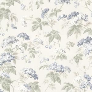 Emily Blue Blossom Trail Wallpaper 2668-21523