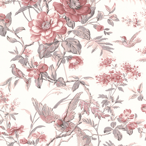 Elizabeth Rose Wildflower Trail Wallpaper 2668-21531