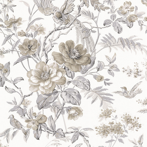 Elizabeth Grey Wildflower Trail Wallpaper 2668-21532