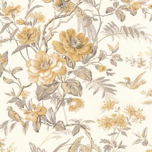 Elizabeth Yellow Wildflower Trail Wallpaper 2668-21535
