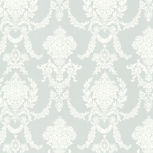 Sophia Mint Damask Wallpaper 2668-21536