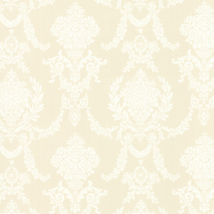 Sophia Yellow Damask Wallpaper 2668-21540