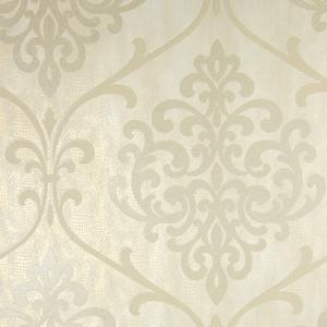 Ambrosia Champagne Glitter Damask Wallpaper 2542-20712