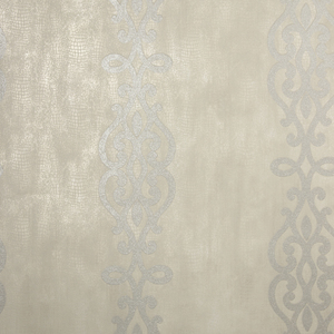 Anaconda Taupe Glitter Stripe Wallpaper 2542-20721