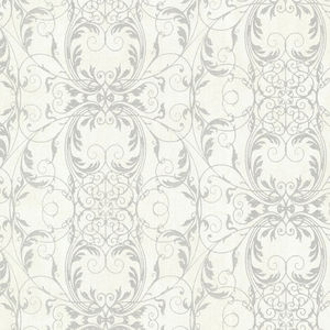 Tianna Opal Ironwork Scroll Wallpaper 2542-20729
