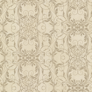 Tianna Brass Ironwork Scroll Wallpaper 2542-20731