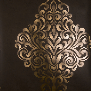 Lux Brown Foil Damask Wallpaper 2542-20748