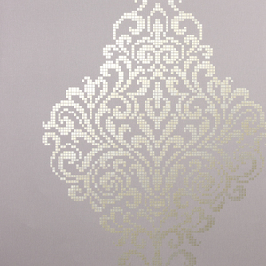 Lux Lavender Metallic Damask Wallpaper 2542-20751