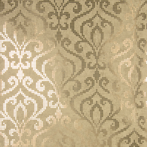 Venus Brass Foil Mini Damask Wallpaper 2542-20753
