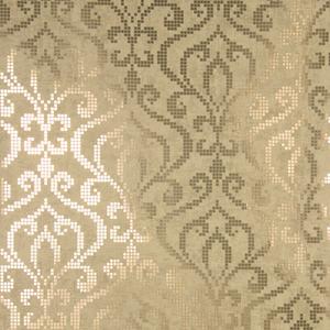 Venus Brass Foil Mini Damask Wallpaper 2542-20753