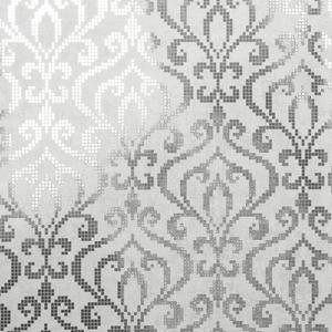 Venus Silver Foil Mini Damask Wallpaper 2542-20754