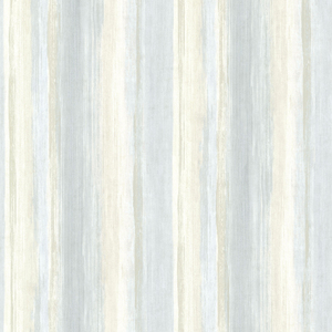 Sebago Blue Dry Brush Stripe Wallpaper SRC01722
