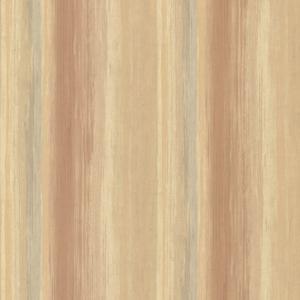 Sebago Burnt Sienna Dry Brush Stripe Wallpaper SRC01726