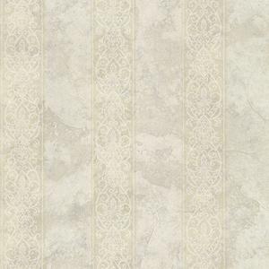 Presque Isle Sand Regal Stripe Wallpaper SRC01751