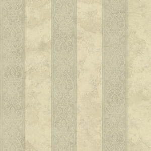 Presque Isle Sage Regal Stripe Wallpaper SRC01752