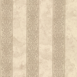 Presque Isle Wheat Regal Stripe Wallpaper SRC01753