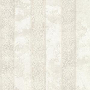 Presque Isle Light Grey Regal Stripe Wallpaper SRC01755