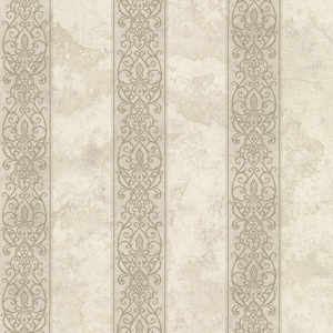 Presque Isle Fog Regal Stripe Wallpaper SRC01756