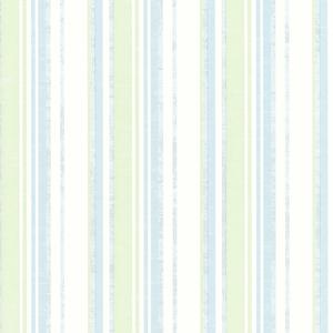 Belfast Aqua Galop Stripe Wallpaper SRC01792