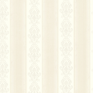 Eastport Ivory Arabelle Stripe Wallpaper SRC113010