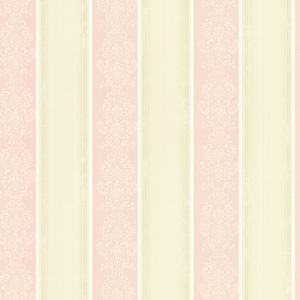 Eastport Pink Arabelle Stripe Wallpaper SRC11307