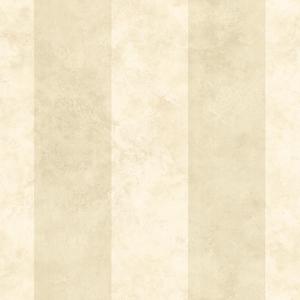 Stonington Cream Awning Stripe Wallpaper SRC194522