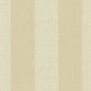 Harpswell Beige Herringbone Awning Stripe Wallpaper SRC194531