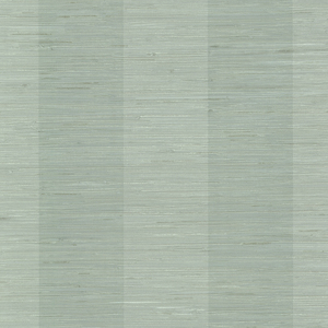 Oakland Aqua Grasscloth Stripe Wallpaper SRC256011