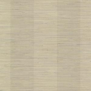 Oakland Pewter Grasscloth Stripe Wallpaper SRC256015