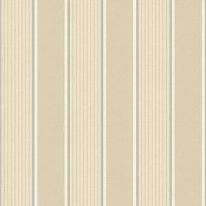 Steuben Wheat Turf Stripe Wallpaper SRC47272