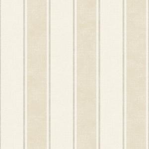 Steuben Beige Turf Stripe Wallpaper SRC47274