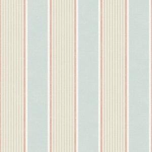Steuben Aqua Turf Stripe Wallpaper SRC47275