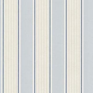 Steuben Navy Turf Stripe Wallpaper SRC47279
