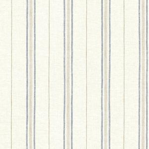 Calais Navy Grain Stripe Wallpaper SRC49512