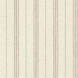 Calais Red Grain Stripe Wallpaper SRC49519