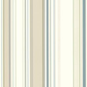 Cape Elizabeth Beige Lookout Stripe Wallpaper SRC585116
