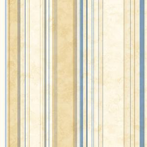 Cape Elizabeth Navy Lookout Stripe Wallpaper SRC58517