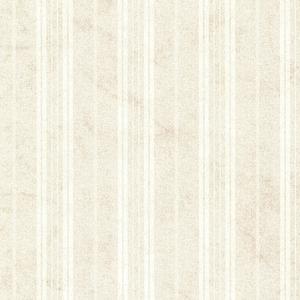 Wiscasset Cream Farmhouse Stripe Wallpaper SRC66312