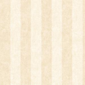 Stonington Beige Awning Stripe Wallpaper SRC71316