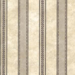 Castine Charcoal Tuscan Stripe Wallpaper SRC761910