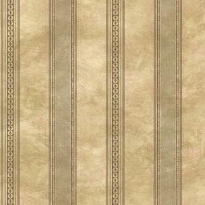 Castine Moss Tuscan Stripe Wallpaper SRC76197