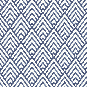 Vertex Indigo Diamond Geometric Wallpaper 2625-21828